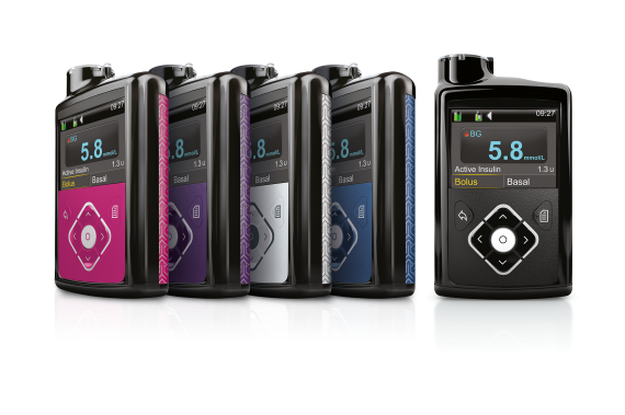 MiniMed 640G insulin pump colours